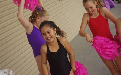Strathpine Physie Dance Troupe Shine at Kurwongbah School Fete